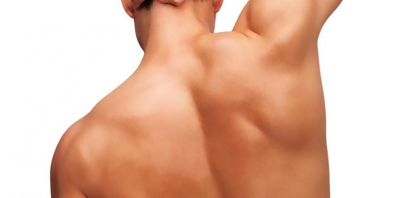 depilación láser en la espalda