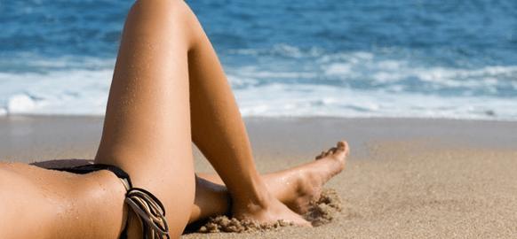 depilación en verano