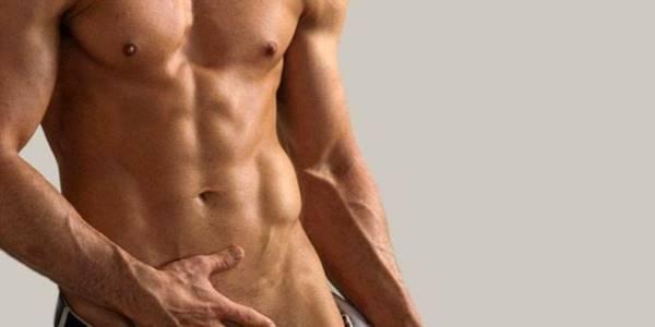 depilar la zona íntima masculina